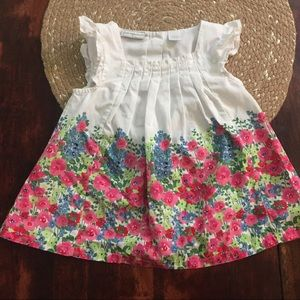 3/$20 First impressions sleeveless floral blouse